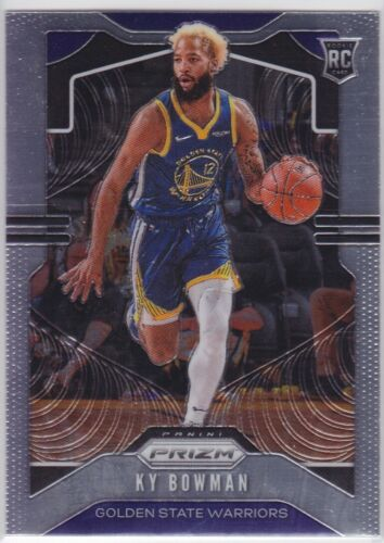 2019-20 PANINI CHRONICLES GOLDEN STATE WARRIORS KY BOWMAN PRIZM UPDATE RC NO 507