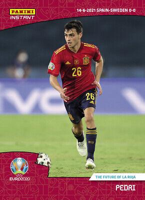 EURO 2020 Panini Instant #11 Pedri Future of La Roja Spain UEFA PRESALE