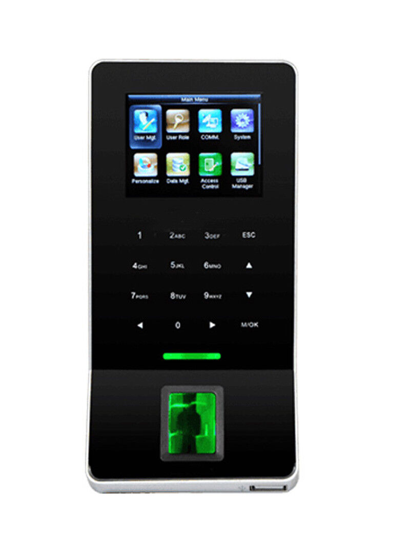 ZK F28 WIFI TCP/IP Fingerprint Time Clock & Access Control  with EM ID Card