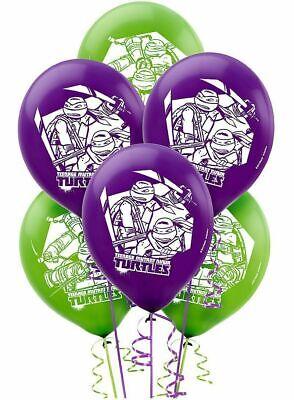 Teenage Mutant Ninja Turtles Latex Balloons Party Decorations 12