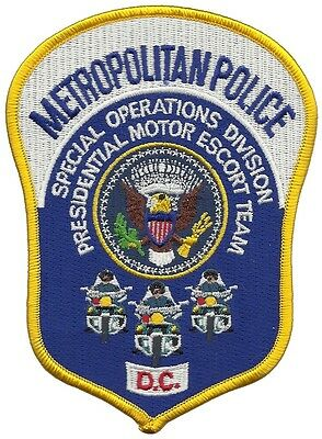 Metropolitan Police Special Operations Presidential Motor Escort Team D.C. Patch