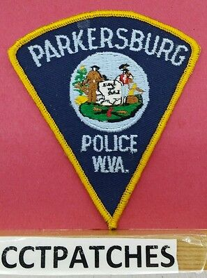 PARKERSBURG, WEST VIRGINIA POLICE SHOULDER PATCH WV