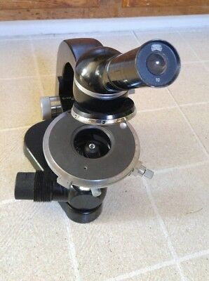 Leitz Sm-pol Polarizing Monocular Flip-in Analyzer Quadruple Nosepiece