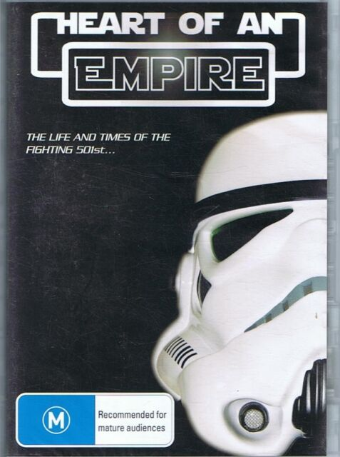 HEART OF AN EMPIRE DVD The Life And Times Of The Fighting 501st NEW & SEALED