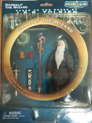 Gandalf The Wizard - Middle Earth Toys - Toy Vault - NIB