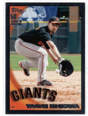 2010 Topps Black #493 Travis Ishikawa Giants NM-MT SER/59