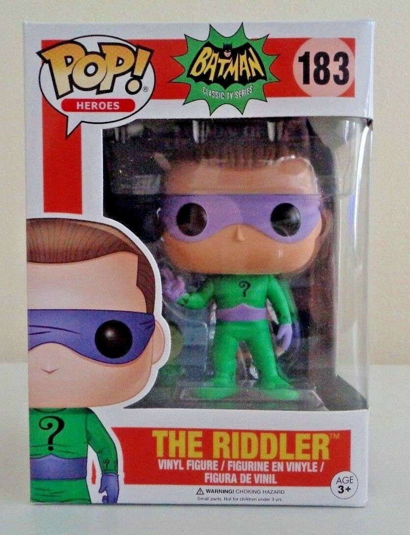 Funko Pop! D.C Batman Classic TV Series  - The Riddler  #183
