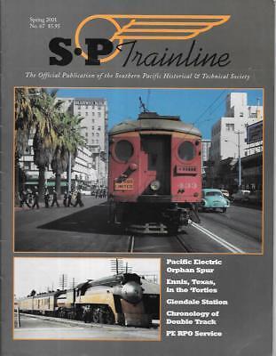 SP Trainline 67 Sp 2001 Pacific Electric Orphan Spur Ennis Texas Double Track