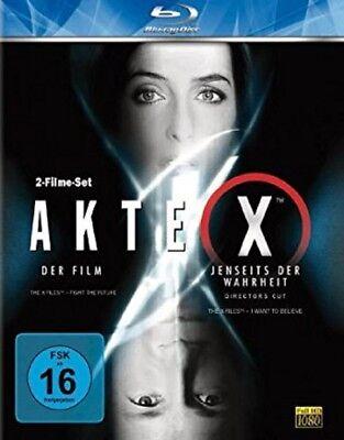 Akte X - Der Film/Jenseits der Wahrheit Blu-ray NEU OVP 2 Filme