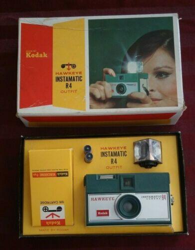 Kodak Hawkeye Instamatic R4 Film Camera New in Box unused