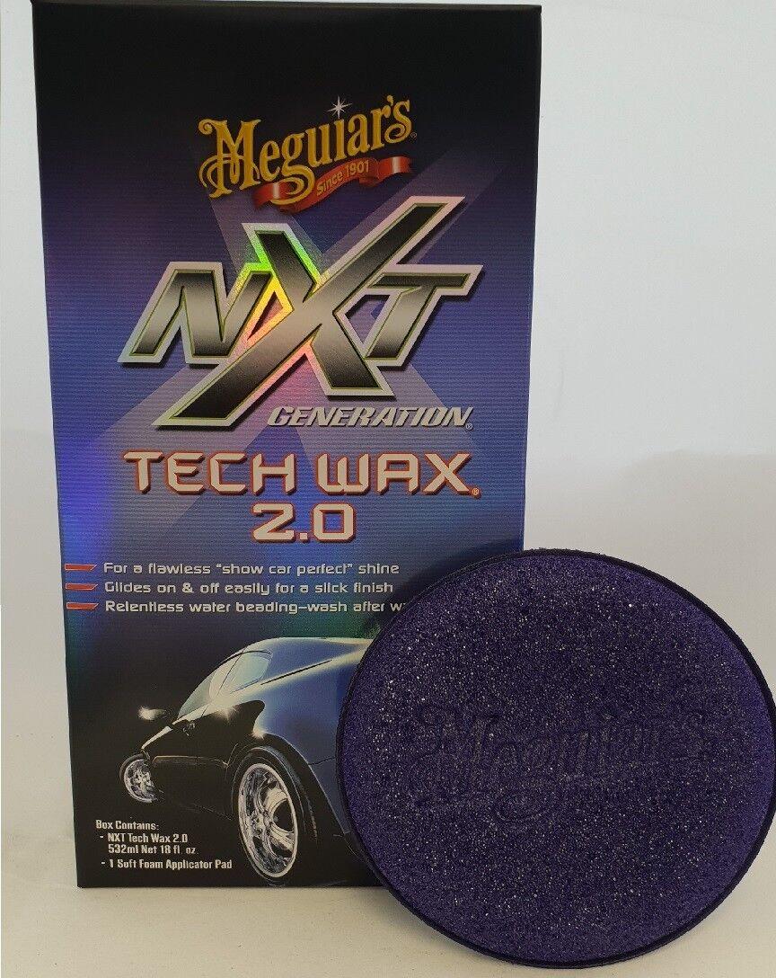 Meguiars Nxt Generation Tech Wachs 2.0 532ml Mit Applikator Pad