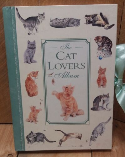 The Cat Lovers Album Hardback Cardboard Photo Album