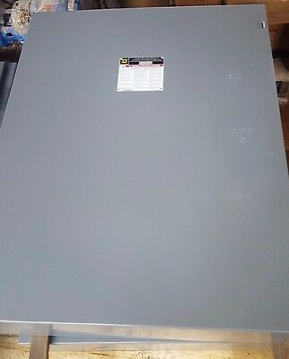 New Square D 4 Pole 82455 Double Throw Transfer Switch 400 Amp C3