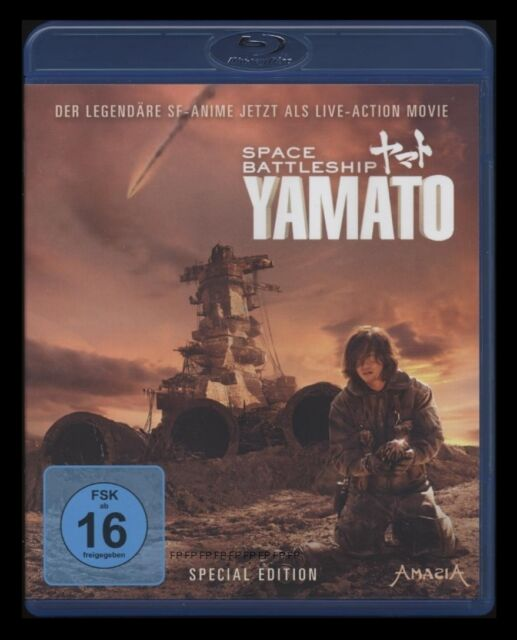 BLU-RAY SPACE BATTLESHIP YAMATO - SPECIAL EDITION - ANIME-REALFILM Sci-Fi * NEU
