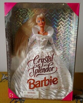 1995 Special Edition ~ CRYSTAL SPLENDOR  Barbie Doll ~ Rare In The UK ~ NRFB