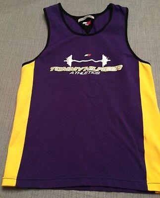 Tommy Hilfiger Athletics Mens Tank Top Gym Workout Vintage Shirt Size Large