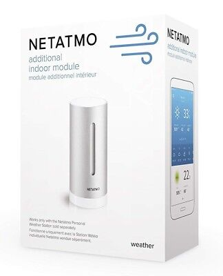 Additional Indoor Module for Netatmo Weather Station - Works With Amazon Alexa