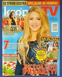 SHAKIRA mag.FRONT cover 24/2014 David Bowie, Karolina Gruszka - europe, Polska - Zwroty są przyjmowane - europe, Polska