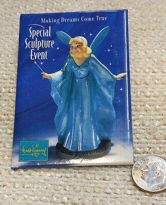 Disney Pin/Button WDCC Blue Fairy 1997 Event Sculpture -