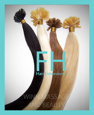 Human_remy_hair_extensions_ Keratin_ 33_wavy_100_strands_1_gram_free_shipping