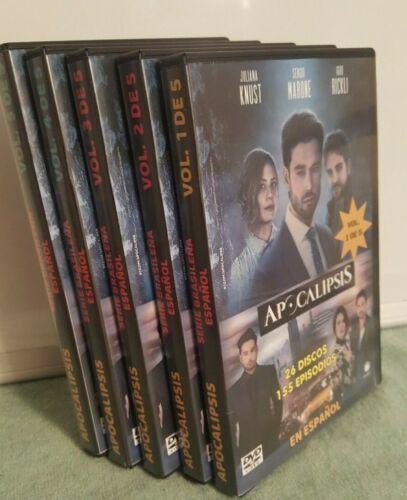 APOCALIPSIS - Serie Brazileña  26 Dvds - Audio Español - COMPLETA 155 EPISODIOS