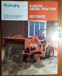 Kubota B2710 Farm Tractor | Kubota Farm Tractors: Kubota Farm