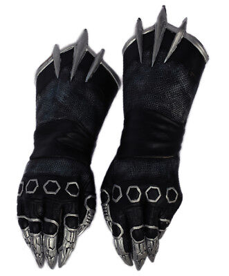 Black Panther Claw Gloves Latex Halloween Cosplay Costume Accessory Prop](Panther Gloves)