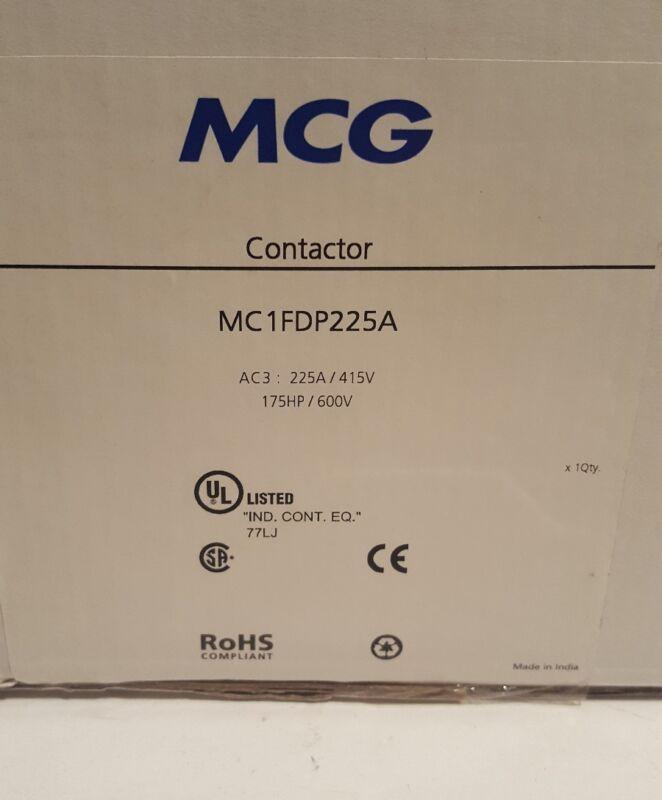 MCG Contactor 3 Pole 225A AC3 Without Coil MC1FDP225A