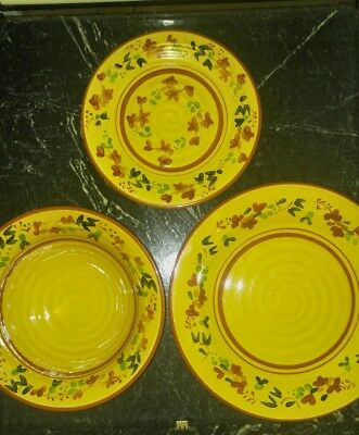 Terre e Provence style dishes (lot of 11) Reduced in price on the market!!!