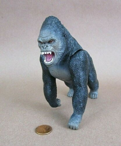 """Rage Male Ape Gorilla Animal PVC Figurine 5"""" Tall Nicely Detailed Heavy Weight!"""