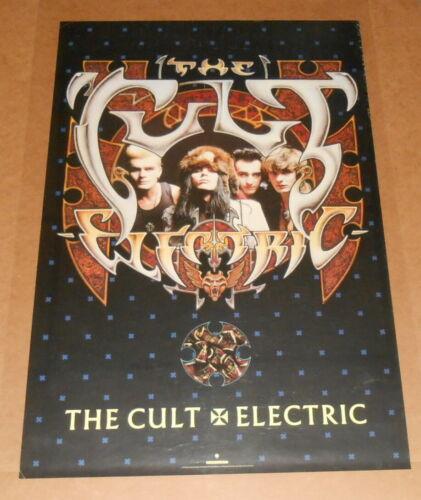 The Cult Electric Poster Original 1987 Promo 35x23 RARE
