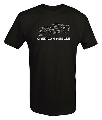 Tshirt -American Muscle Street Racing Ford Mustang Shelby Cobra GT V8