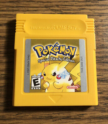 Pokemon Yellow Special Pikachu Edition Nintendo Gameboy Original Tested Saves