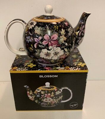 The Leonardo Collection Fine China Tea Pot - Blossom Fine China Teapot