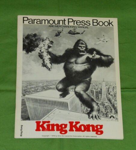 original KING KONG (1976) PRESSBOOK Jessica Lange Jeff Bridges Charles Grodin