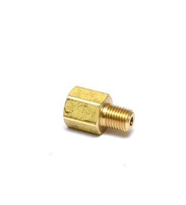 Reducer 18 Female Npt To 116 Male Npt Pipe Adapter Brass Water Air Gas Fuel