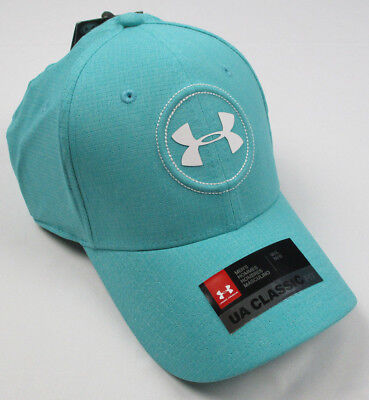 Teal M&m (NWT Under Armour Men's Jordan Spieth Tour Cap Hat Teal Punch S/M M/L L/XL)