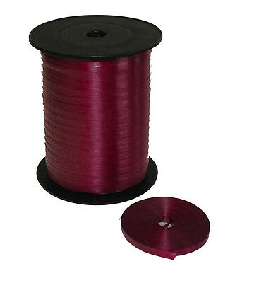 Burgundy 5mm Curling Ribbon  Chose From 10m-100m for Balloons & Gift Wrap