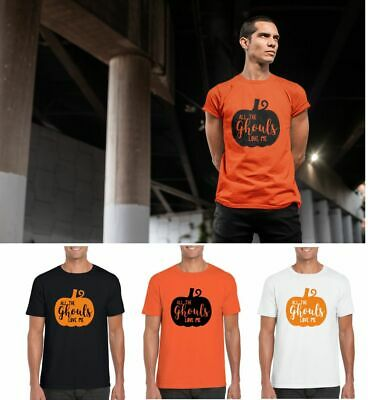 All The Ghouls Love Me Mens Adults Halloween Costume T-Shirt Funny - All The Halloween Costumes