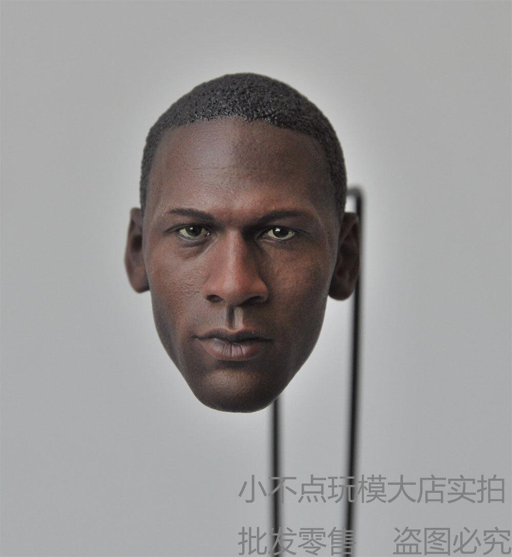SO-TOYS 1//6 Michael Jordan Head Sculpt SO-09 Male Head Model F 12/'/' Figure