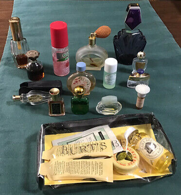 Large Assortment of Perfume Bottles & Burt's Bees Items
