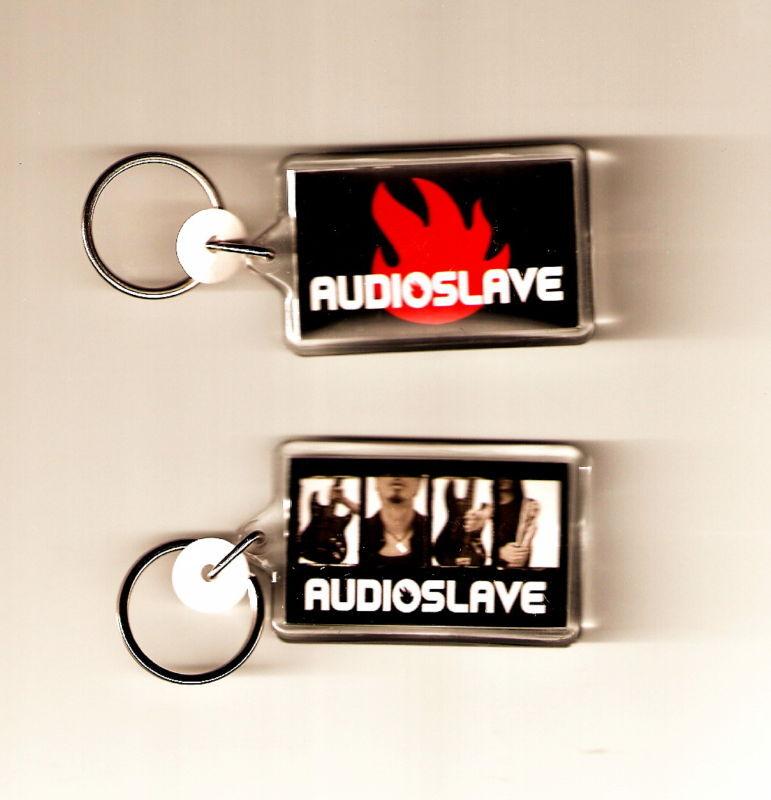 AUDIOSLAVE Rage Against The Machine Acrylic DBL SIDED Music Keychain KEY CHAIN