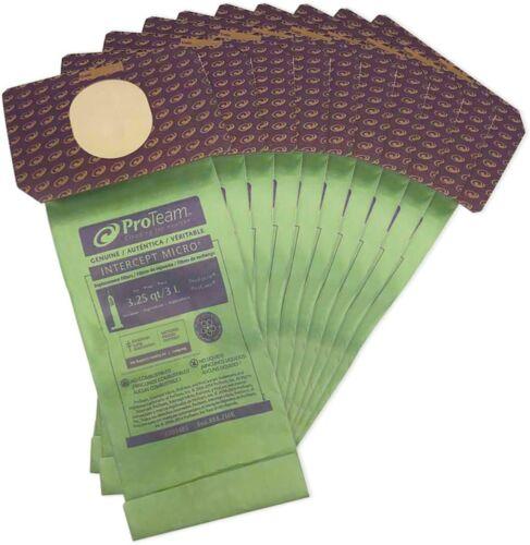 Genuine ProTeam 103483 Intercept Micro Proforce ProCare Vacuum Bag, 10-Pack