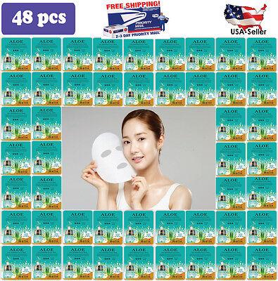 Malie  48 Pcs Ultra Hydration Essence Mask Pack  Korean Facial Mask Sheet