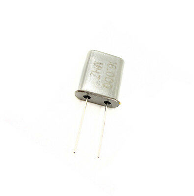 10pcs 16mhz 16 Mhz 16.000 Mhz Crystal Oscillator Hc-49u New