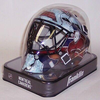 Montreal Canadiens Franklin Sports NHL Mini Goalie Mask Helmet - NEW in BOX