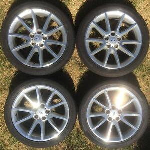 4x Ford Falcon FG Series 2 XR6 XR8 XR6T rims wheels mags 18 inch Epping Whittlesea Area Preview