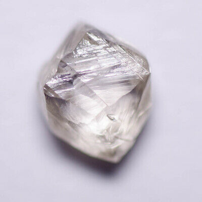 0.46 Carat LIGHT CHAMPAGNE MACKLE DIAMOND NATURAL ROUGH UNTREATED