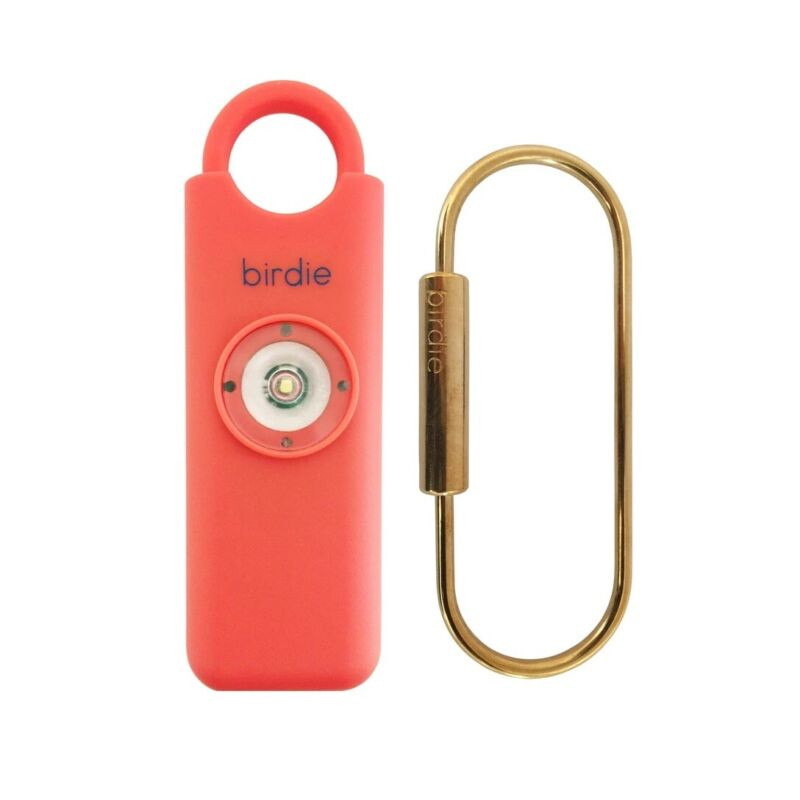 She's Birdie Personal Safety Alarm For Woman Coral