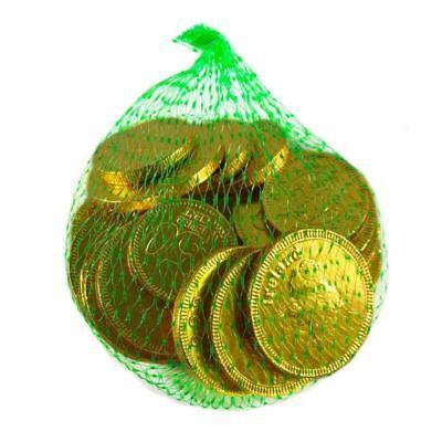 Glücksbringer-Beutel mit irischen Milchschokolade-Münzen 75g mit Euro- und iris (Schokolade Schokolade-münzen)